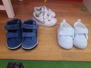 Calzado bebé 3 pares