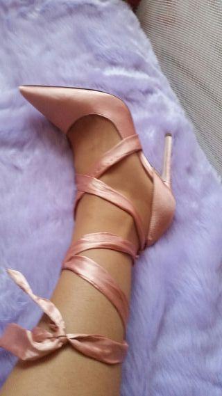 Zapatos tacon fiesta