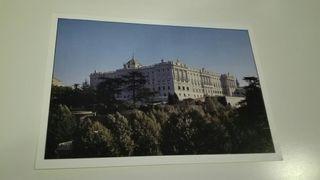 postal palacio real madrid