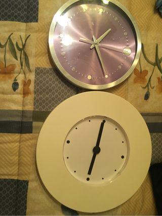 2 reloj paredes