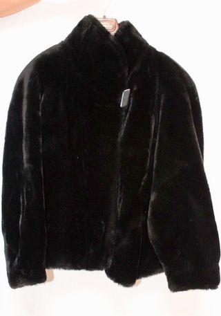 Abrigo de pelo mujer