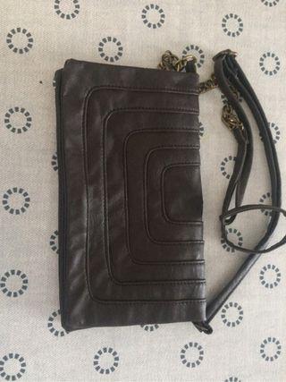 Bolso de mano, marrón