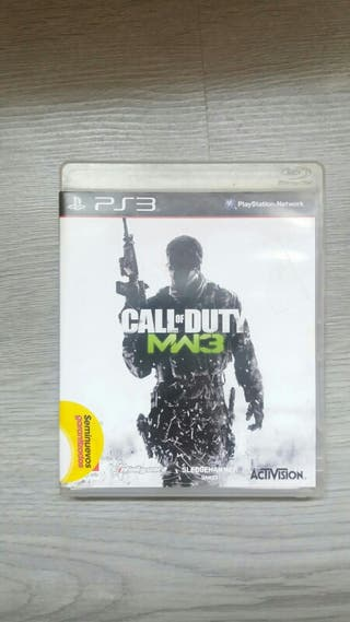Juego PS3 Call Of Duty MW3