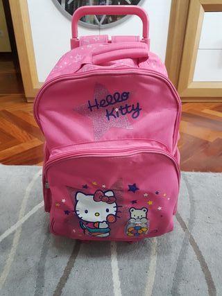 mochila con ruedas HELLO KITTY