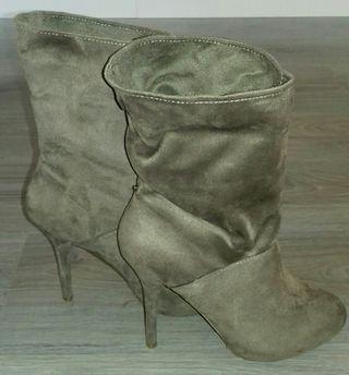 botines ante moda