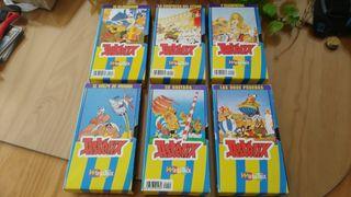 Coleccion VHS Asterix y Obelis