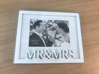 Marco de fotos Mr. and Mrs.