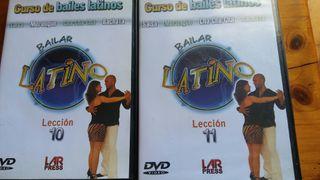 Curso DVD baile Latino