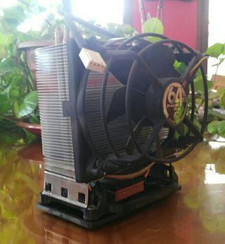 Disipador CPU para sockets AMD e INTEL