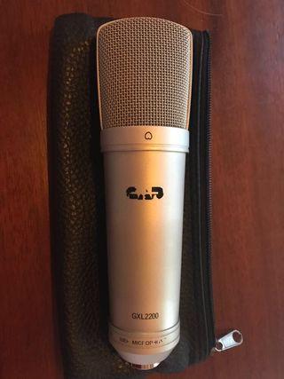 Microfono condensador CAD