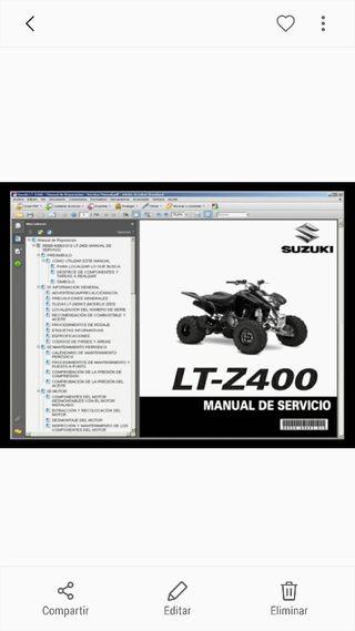 manual de taller lt z400