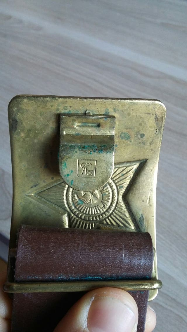 Cinturón Ejército Rojo