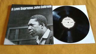 Disco vinilo John Coltrane A love Supreme