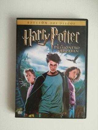 2 DVD Harry Potter y el prisionero de Azkaban