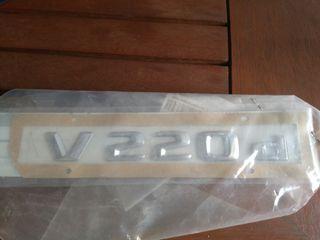 anagrama mercedes V 220d nuevo
