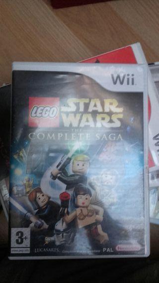 Videojuego Wii Lego Star Wars The complete Saga