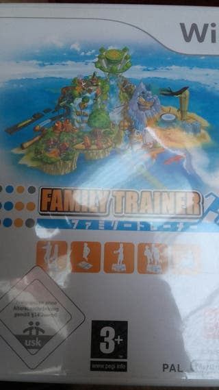 Videojuego Wii Family trainer