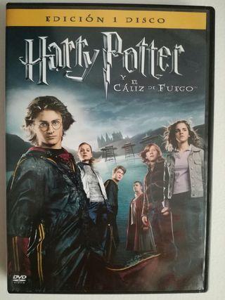 Harry Potter y el cáliz de fuego DVD