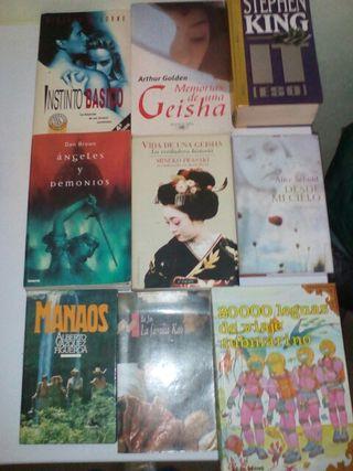 Libros y novelas.