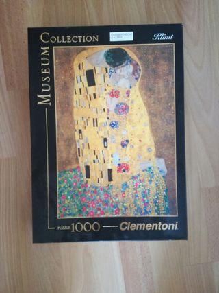 """Puzzle de """"El beso"""" de Gustav Klimt"""