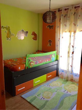 Habitacion cama nido infantil