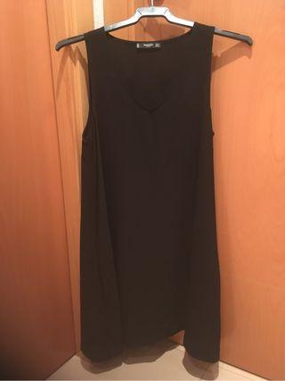Vestido negro basico nuevo