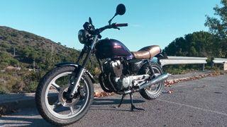 moto CB 250 cc scrambler