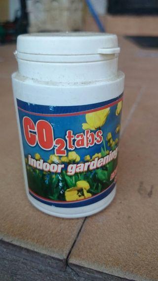 tabletas CO2 para cultivo de interior grow shop