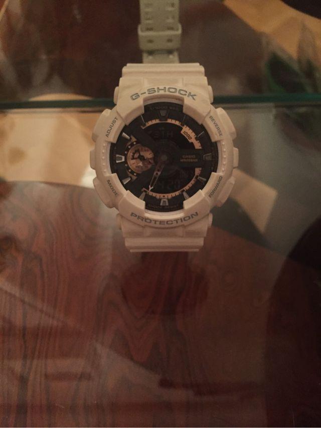 Original 100% Oportunidad Reloj G Shock blanco intacto