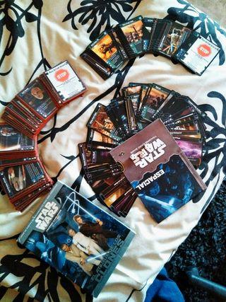 Star Wars juego cartas