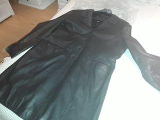 Abrigo piel marron