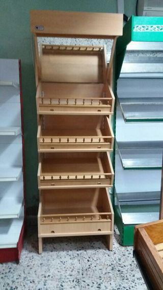 Expositores de madera de segunda mano en wallapop - Garajes de madera de segunda mano ...