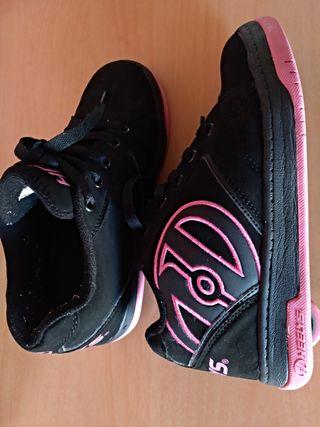 zapatillas hellys con ruedas, patines
