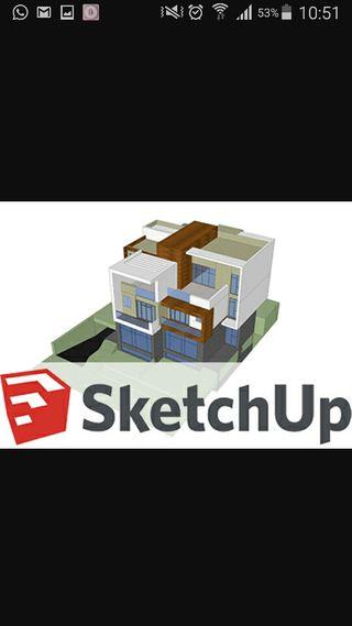 curso diseño 3D sketchup