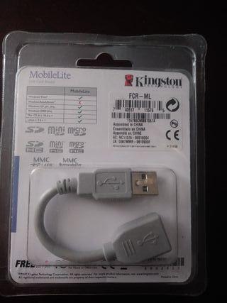 adaptador tarjeta SD micro SD