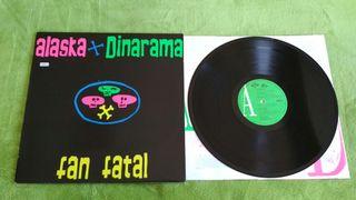 Disco Vinilo Alaska + Dinarama Fan Fatal