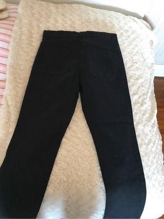 Pantalon negro Zara