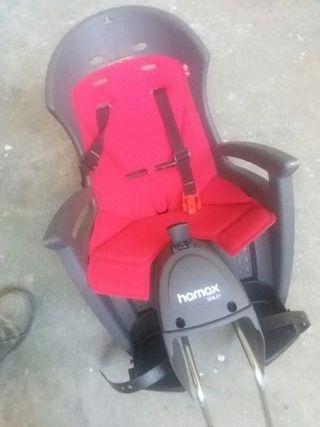 silla bici niño