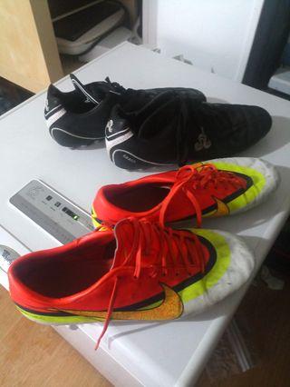 botas de futbol tacos numero 44