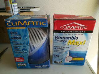 climatic humedad control +recambio de 1 kg