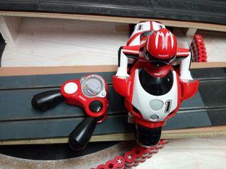 Moto juguete radio control