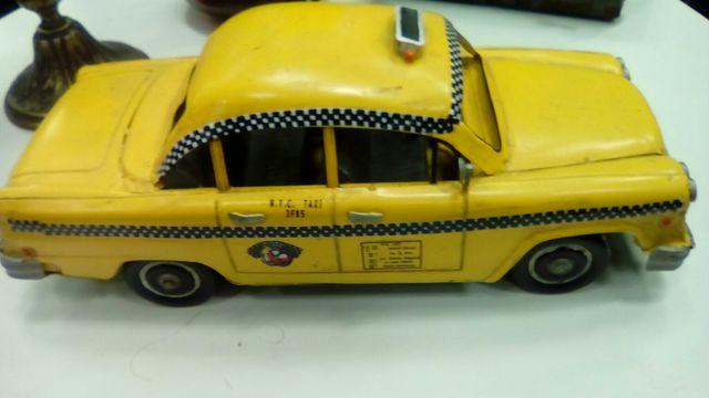 taxi de nueva York de chapa
