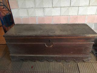 Arca antigua del 1850,mueble antiguo a restaurar
