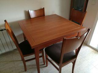 muebles y cristalera