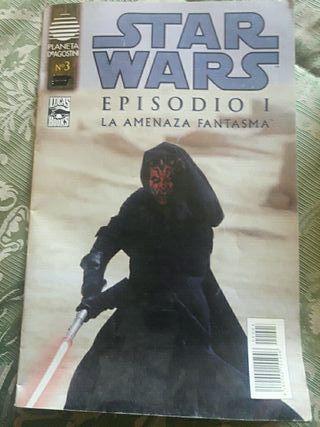 comic de star wars del 99