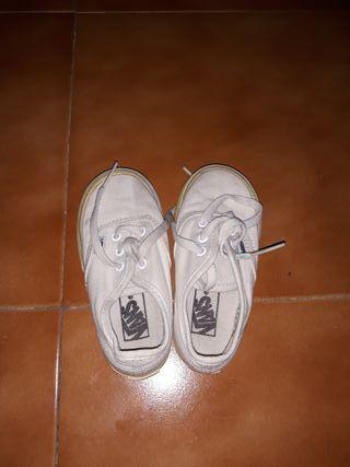 zapatilla vans niñ@ talla 22