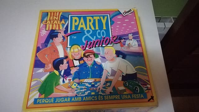 Juego De Mesa Party Amp Co Junior Es En Catala De Segunda Mano
