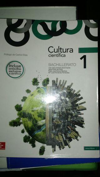 libro texto cultura cientifica