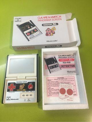 Game watch panorama screen Donkey Jr Nintendo Recreativa,casio,xbox,sega,