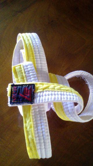 cinturón yudo